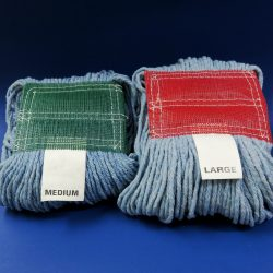 Blue Cotton Wet Mops