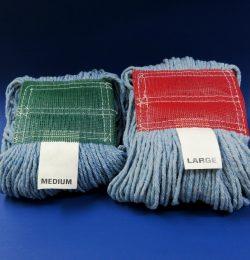 Blue Cotton Wet Mops
