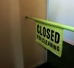 Closed For Cleaning- Hanging Sign