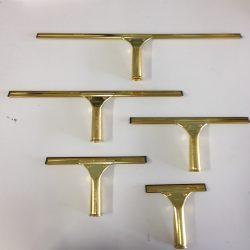Squeegee Window Washer w/ Brass Handle
