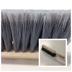 Black Push Broom