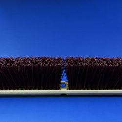 Concord Stiff Push Broom - Maroon