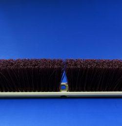 Concord Stiff Push Broom - Maroon