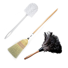 Dusters, Brooms & Brushes
